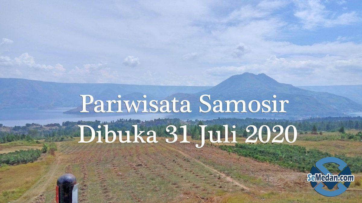 Pariwisata Samosir Dibuka 31 Juli 2020