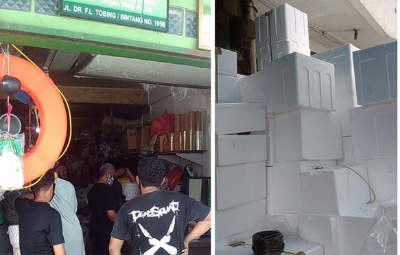 Sebuah toko di Jalan Bintang