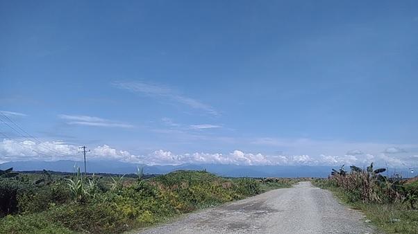 Simpang Penantian menuju Dusun Paya